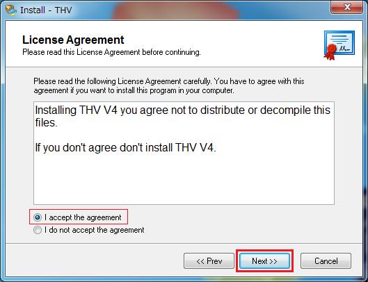 THVシステムV4インストール12
