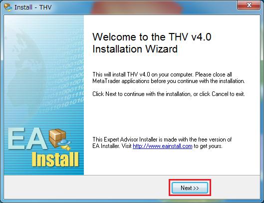 THVシステムV4インストール10